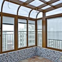 重庆内置中空百叶玻璃门窗
