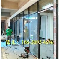惠州玻璃内置百叶隔断
