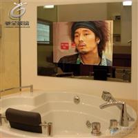 高档酒店魔术镜 镜面玻璃 防水镜面电视玻璃