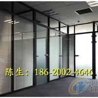 珠海铝合金百叶玻璃隔墙
