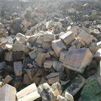 河南窑炉拆除并回收废旧锆刚玉砖
