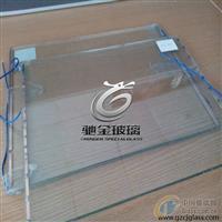 驰金3+3夹胶电加热玻璃 导电除雾玻璃 广州厂家