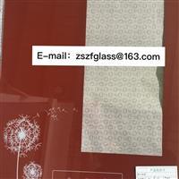 供应消毒柜丝印钢化玻璃