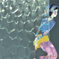 水立方压花玻璃