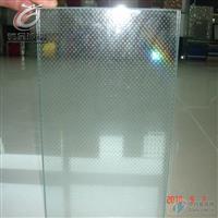 驰金 高透小圆点防滑玻璃 玻璃地砖