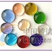 大量供应玻璃珠 彩色玻璃球 碎玻璃