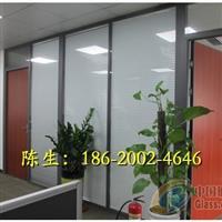 中山办公室双层玻璃带百叶隔断