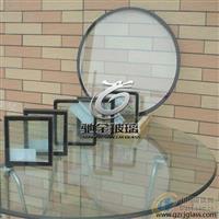 异形电加热玻璃 导电膜电加热除雾玻璃