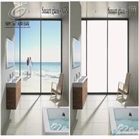 电控调光玻璃 通电玻璃 变色玻璃 雾化玻璃浴室隔断