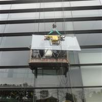 东莞吊篮租赁公司,幕墙玻璃更换安装