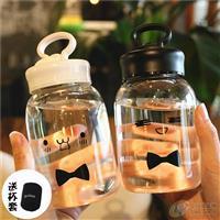 可爱透明耐热玻璃杯