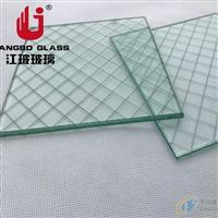 江玻特玻 夹铁丝玻璃 门窗铁蒺藜玻璃