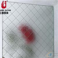 防盗防砸夹铁丝玻璃  铁丝玻璃