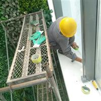 北京龙风基业玻璃幕墙改换玻璃