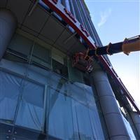 玻璃幕墙维修固定玻璃改换工程