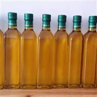 橄榄油瓶玻璃瓶亚麻籽油瓶玻璃瓶
