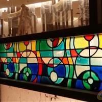 彩绘玻璃 彩釉玻璃