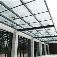 西安玻璃雨棚车库雨棚生产厂家西安雨棚定制