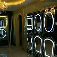 触摸浴室LED防雾镜 酒店卫浴灯镜