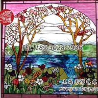 彩色镶嵌玻璃彩绘镶嵌玻璃蒂凡尼镶嵌玻璃专业定制
