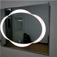 卫生间卫浴镜子LED灯镜 简约新款透光镜