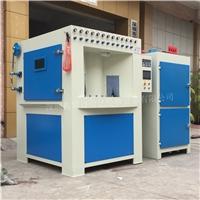 山东圆形柱体自动化转盘式喷砂机 自动化喷砂设备