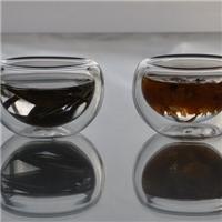 双层玻璃茶具耐热玻璃茶具隔热玻璃茶具