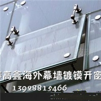 我们家安装电梯幕墙玻璃/更换玻璃工程