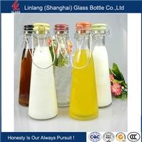 供给玻璃瓶,提手水瓶,卡扣酵素瓶