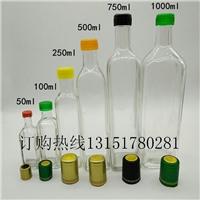玻璃瓶250ml核桃油瓶山核桃油专用瓶