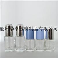 畅销20ml30ml透明精油瓶 配旋转滴管盖 化妆品玻璃瓶