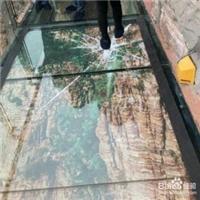 北京裂纹特效玻璃/玻璃栈道特效玻璃供应价格