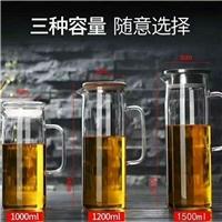 玻璃高硼硅凉水壶