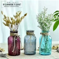 上海现货工艺花瓶,玻璃工艺品