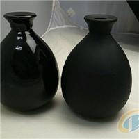 供给黑色玻璃瓶,玻璃成品
