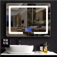 浴室镜子厕所卫生间壁挂现代简约led灯化妆镜