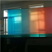 供应优质渐变变色钢化玻璃