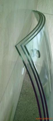 6mm+12A+6mmlow-e双曲玻璃