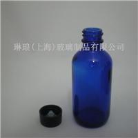 出口60ml蓝色精油玻璃瓶