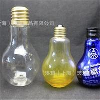 供應餐飲350ml創意玻璃瓶