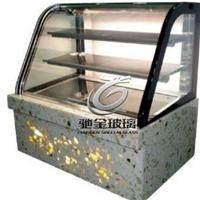 蛋糕柜電加熱玻璃門、除霧除霜高透中空電加熱