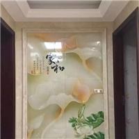 玻璃瓷磚裝修裝飾圖案打印成本多少錢