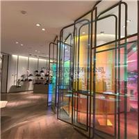 广州炫彩玻璃 幻彩玻璃 变色炫彩玻璃