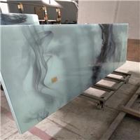 广州夹山水画玻璃 夹抽象画玻璃
