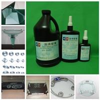 玻璃粘金属UV胶|无影胶|紫外线胶水UV-3180