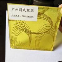 广州供应夹丝玻璃 夹绢丝玻璃 装饰隔断
