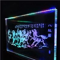 导光玻璃 内雕玻璃  激光内雕玻璃 特种玻璃