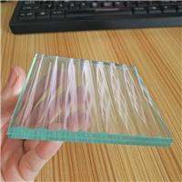 条纹夹胶玻璃 夹层玻璃 隔断玻璃