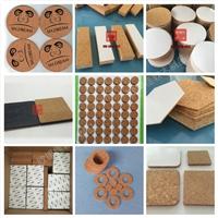 河北软木陶瓷垫 软木垫 杯垫厂家定做