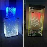 LED发光装饰玻璃 灯箱、灯柱 厂家供应